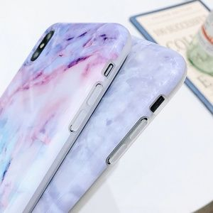 Accessories - NEW iPhone X/XS Watercolor Marble Case